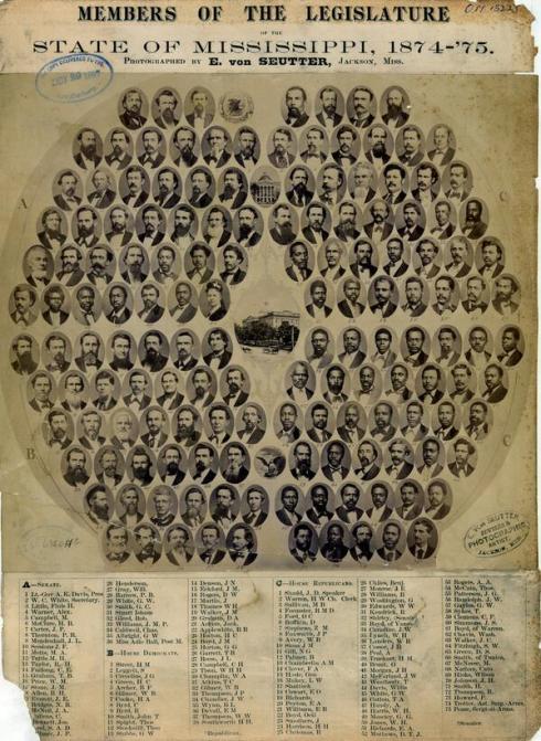 Mississippi Legislature 1874-75
